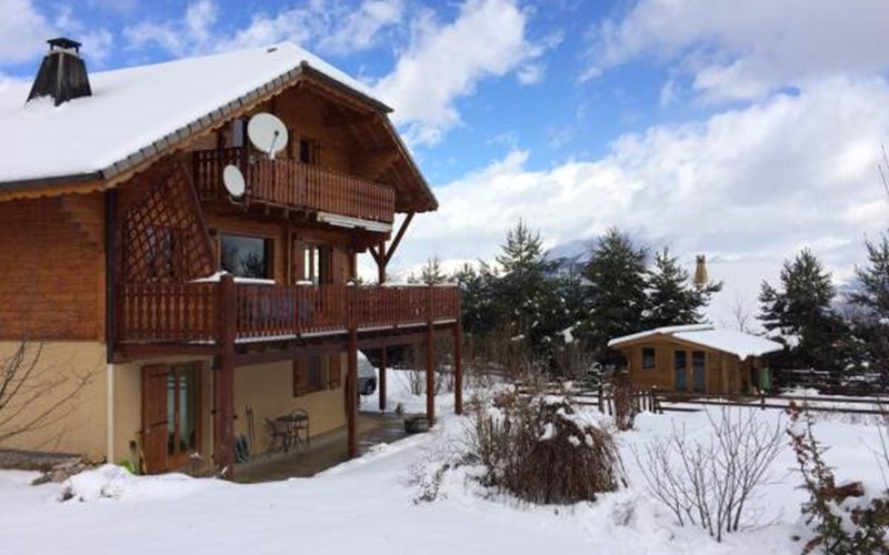 Location Gîte de France N°2226 (Chalet Céuzie) à MANTEYER
