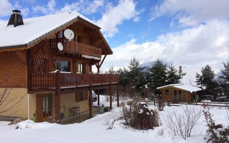 Location Chalet La Céüzie à MANTEYER
